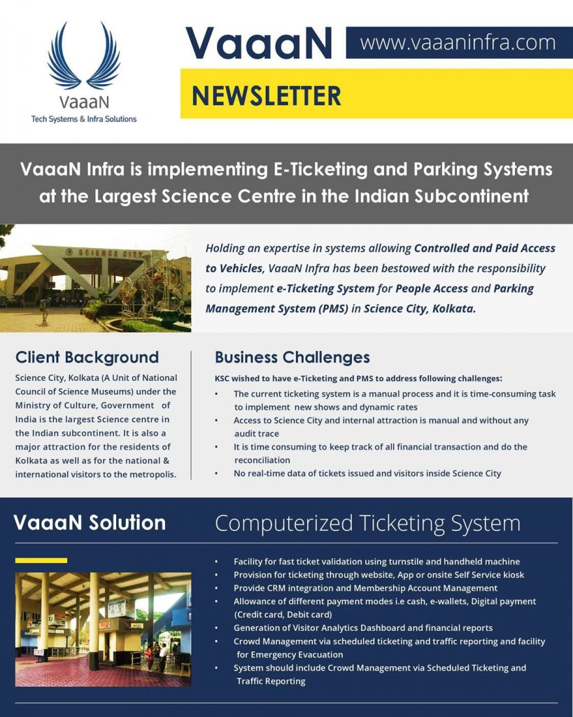 Implementing E-tickets & Parking Systems